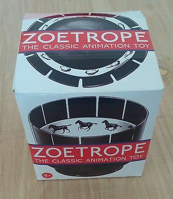 Zoetrope Classic Animation Toy Optical Illusion