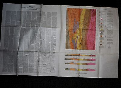 1962 USGS Geologic Map of Lincoln Mountain Quadrangle, Maine GQ-164