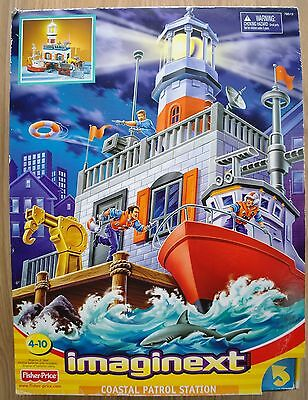 Fisher Price Imaginext Coastal Patrol Station New in Box