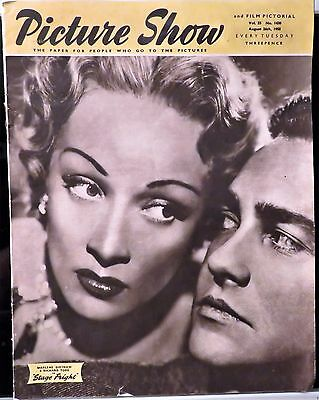 Picture Show & Film Pictorial 8/26/50~Dietrich & Todd/r.taylor/garrett/ Previews