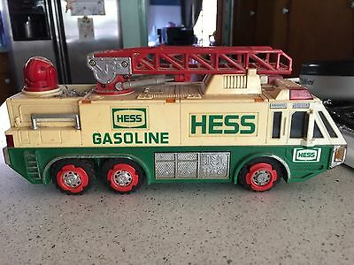 1996 Hess Gasoline Fire Ladder Emergency Truck
