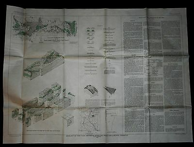 1953 USGS Geologic Map of Talc Deposits, Sterling Pond, Stowe Vermont MF-11