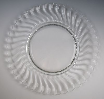 Fostoria Glass COLONY Dinner Plate(s) EXCELLENT