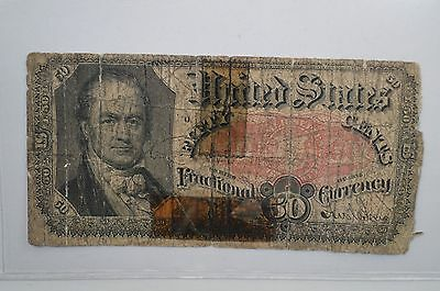 19th Century Fifty Cents Fractional Currency *P22