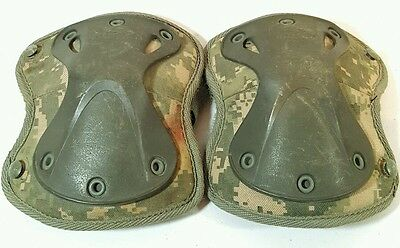 Hatch COOLMAX X-TAK 2000 digital camo KNEE PADS Large size Army ACU