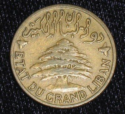 1925, 2 Piastres from Lebanon.  No Reserve!!!