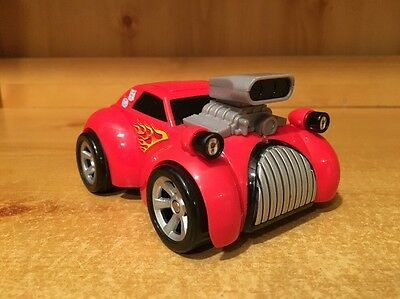 Fisher Price Shake N Go #8 Red Hot Rod Car