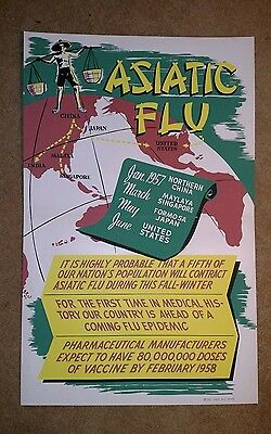 Vintage 1950's Pharmacy Drugs Store Pharmacist Stand Up Sign USA
