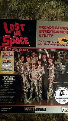 Lost in space arcade series entertainment utility cd -rom