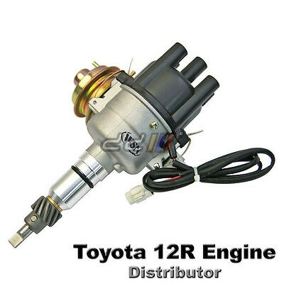 1pcs Electronic Ignition Distributor Toyota 12R 1.6L Engine Hilux Hiace Corona