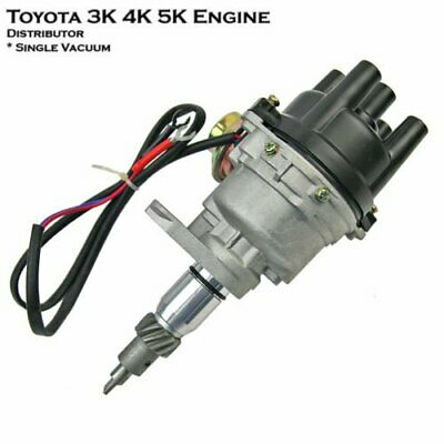 1pcs Electronic Ignition Distributor for Toyota 3K 4K 5K Engine Single Vacuum