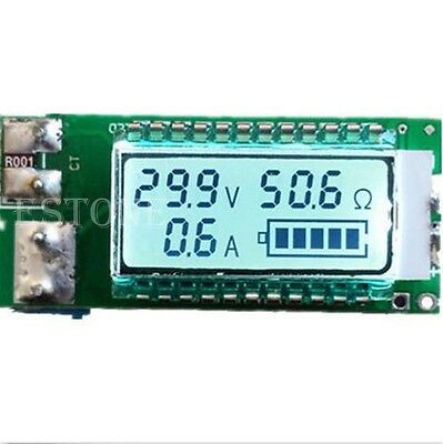 18650 battery Lithium Li-ion tester Capacity Current Voltage Detector LCD meter