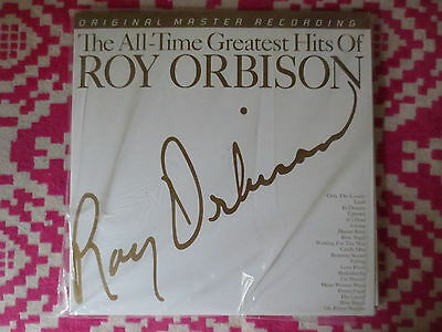 The All-Time Greatest Hits Of Roy Orbison Record LP Vinyl