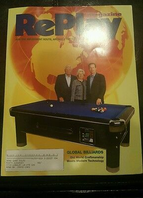 Replay magazine from February 2008 Great Condition