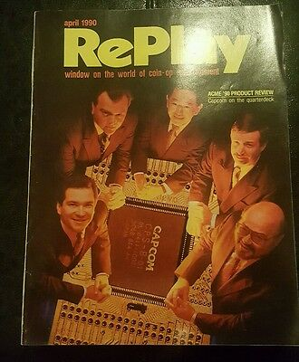 Replay Magazine from April 1990