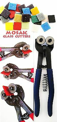 Mosaic Glass Cutters, Wow!! Free Bonus Pack of Tiles