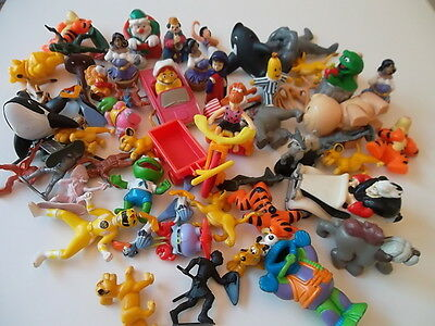 60 x  WARNER BROS, McDONALDS, DISNEY, MUPPETS PROMO TOYS * Cart dated 1986