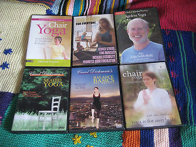 Chair Yoga Dvd Pack - Suitable For All Fitness Levels & Experience