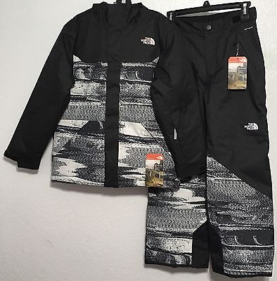 33f6d4db3 THE NORTH FACE Boy Freedom Pant Snow Ski & Brayden Insulated Jacket M 10-12  NWT