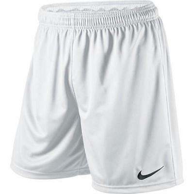 Nike Park Soccer Football Shorts- White- 100% Official Nike Product