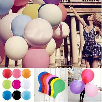 Giant 1pc 36 Inch Big Latex Ballon BirthdayWedding Party Celebration Decoration