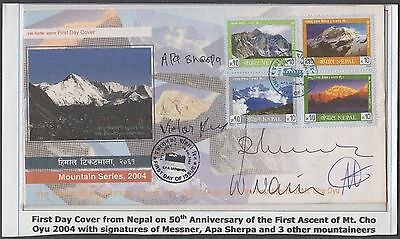 Nepal Everest Expedition Scarce Signed Cover