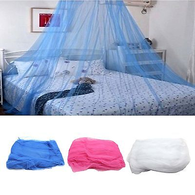 Queen Canopy Bed Curtain Dome Stopping Mosquito Net Midges Insect Bug Mesh Net