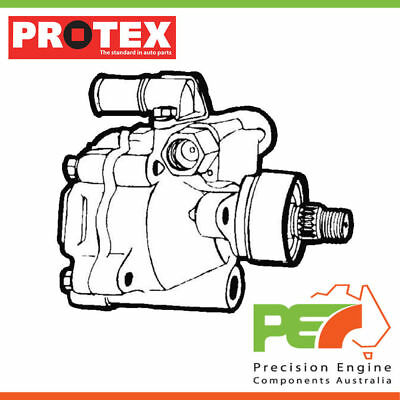 New Genuine *PROTEX* Power Steering Pump For NISSAN SKYLINE R31 4D Wgn RWD.