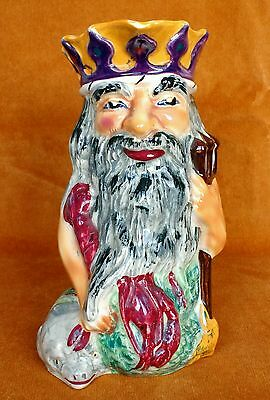 Father Neptune Character Jug by Shorter & Son Staffordshire Hand painted 7 inch