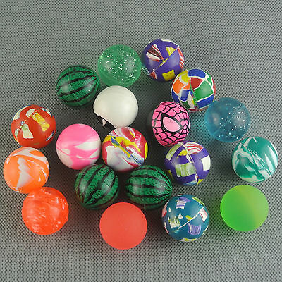 """Elastic 10 X Ball Colorful 1.12"""" Style Bouncing Mix New Wholesale"""