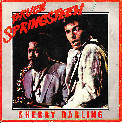 "7"" promo BRUCE SPRINGSTEEN sherry darling / be true 45 SINGLE SPANISH 1981"
