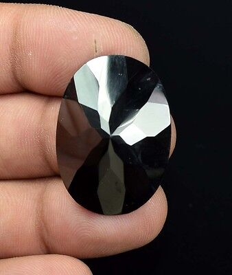 59.15 Cts. 100 % Natural  Hematite  Oval  Checker Cut  Loose  Gemstones