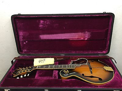 The Gibson Mandolin Model F5 Master from 1975 with hardcase