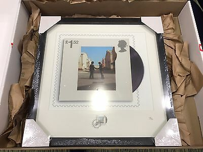 Pink Floyd - Wish You Were Here : Framed Stamp Print 138/750 Royal Mail Rare