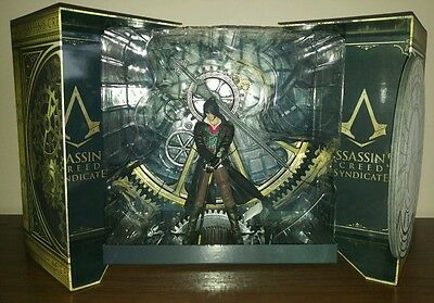Assassin'S Creed Syndicate Jacob's Machinery Collector's Statue Figurine New