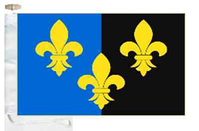 Monmouthshire Sir Fynwy County Courtesy Boat Flag Roped & Toggled
