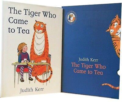 The Tiger Who Came to Tea Slipcase Judith Kerr Children Picture Book Gift Pack