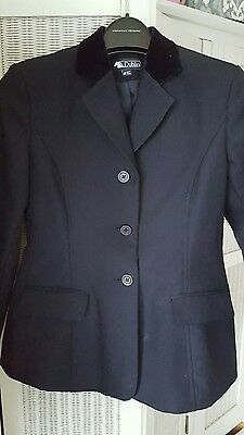 navy childs show jacket coat riding equestrian 28