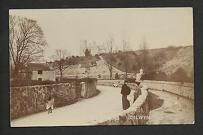 Colwyn - real photographic postcard