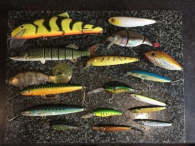 Salmo Rapala Fox Savage Gear Pike Lures x 16
