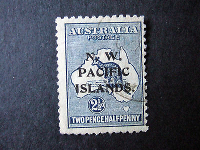 NEW GUINEA SG107 - 2 1/2d FINE USED - SEE SCAN FOR REVERSE