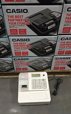 Casio Se-G1 Sd Cash Register Electronic Till - Retail Shop Brand New In Box
