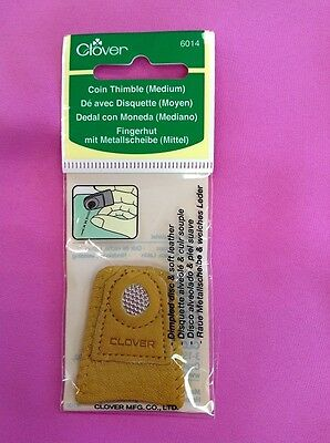 Clover Coin Thimble - Medium