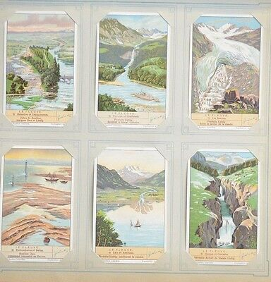 Liebig French Trade Card S1353 The stream
