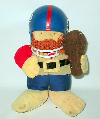 Rare Collectable - 1983 NFL HUDDLES - New York Giants Soft Toy - Free P&P!