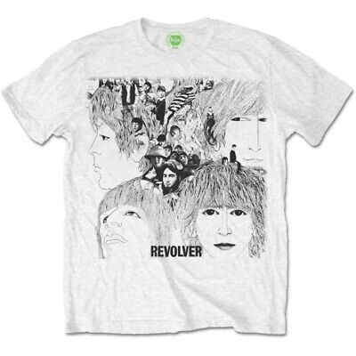 The Beatles 'Revolver Album Cover' T-Shirt - NEW & OFFICIAL!