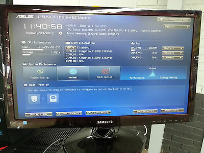 """Samsung Led 24"""" Monitor Full Hd As New Condition"""