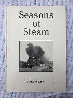 Seasons of Steam by Laurie Anderson Railway book
