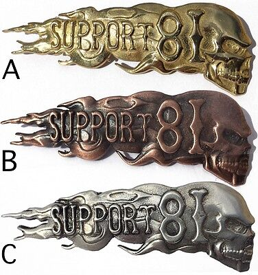 044 Hells Angels Support 81 Pin 10 year Anniversary Limited Edition