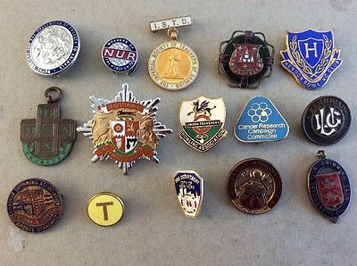 Job Lot 4 (15) Enamel Badges